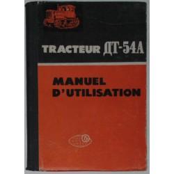 ДТ-54А. Manuel d`utilisation.