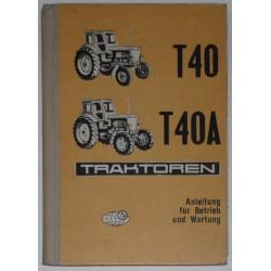 Т-40, Т-40А traktoren.
